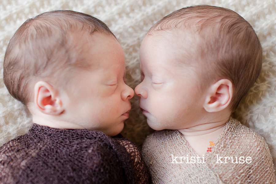 Newborn twins photographer