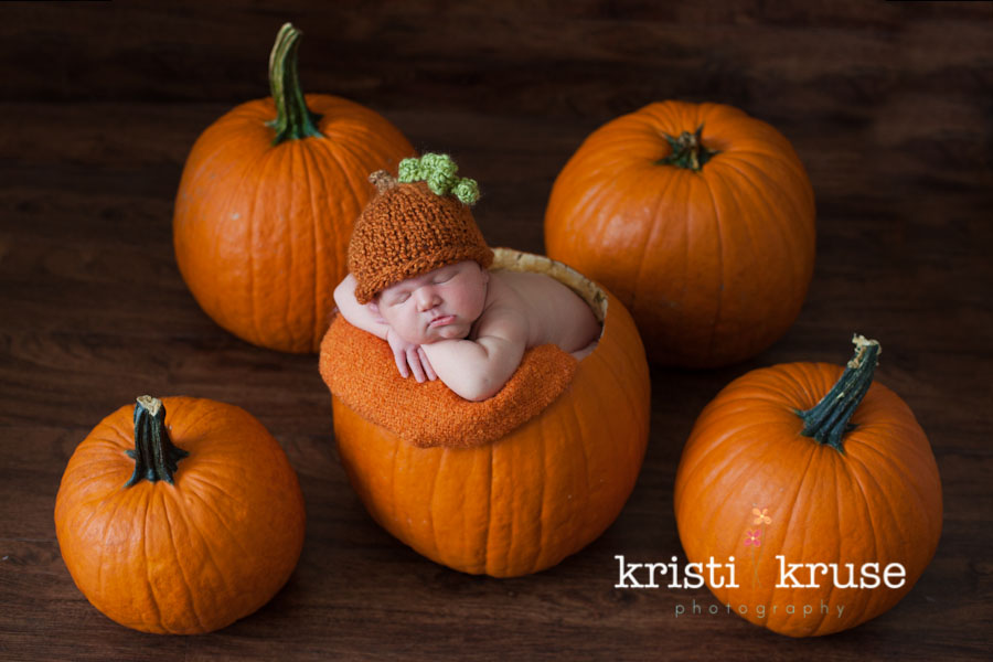 pumpkin diy baby photography props